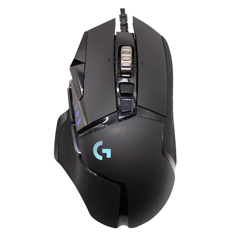 罗技g502主宰者hero有线游戏鼠标rgb送宏吃鸡apex英雄 罗技 G502