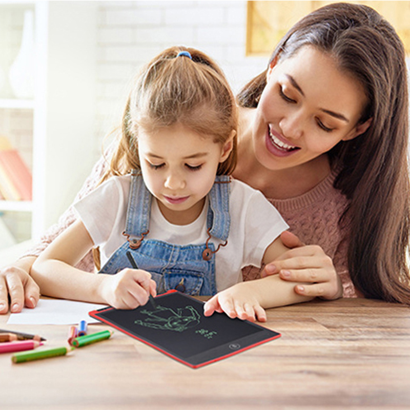 维博斯8.5寸12寸lcd液晶手写板儿童益智绘画板手绘涂鸦板电子黑板