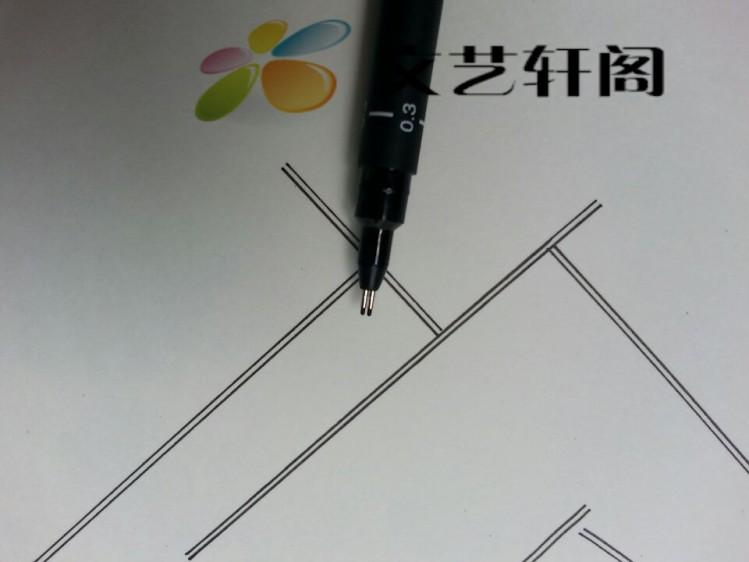 包邮一注二注册建筑设计师考试绘图双线笔 针管笔 绘图笔 墙线笔