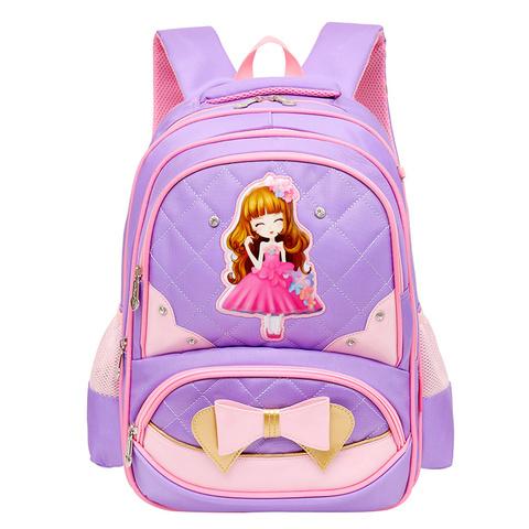 儿童书包女生可爱1-2-3-5-6年级减压护脊小学生书包6-12周岁女孩