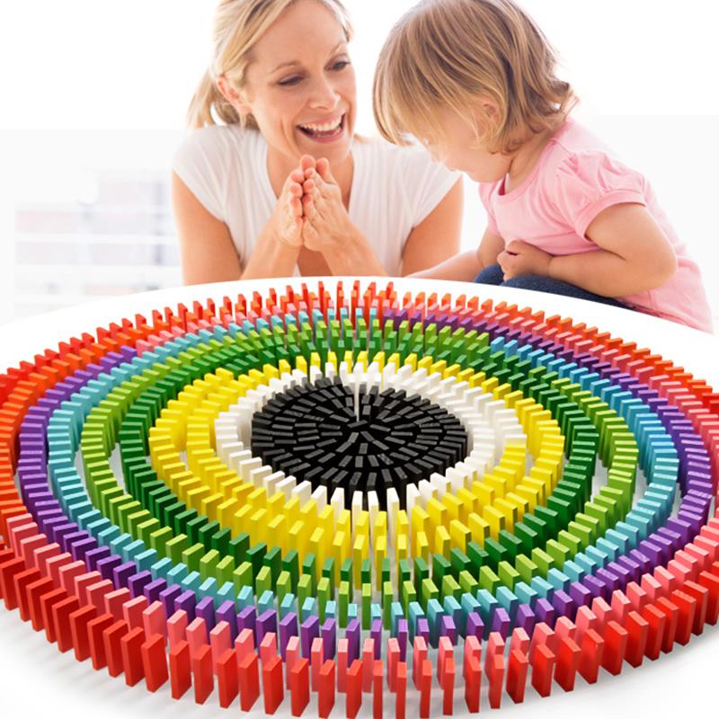 多米诺骨牌1000片成人益智玩具儿童学生比赛专用积木标准抖音同款