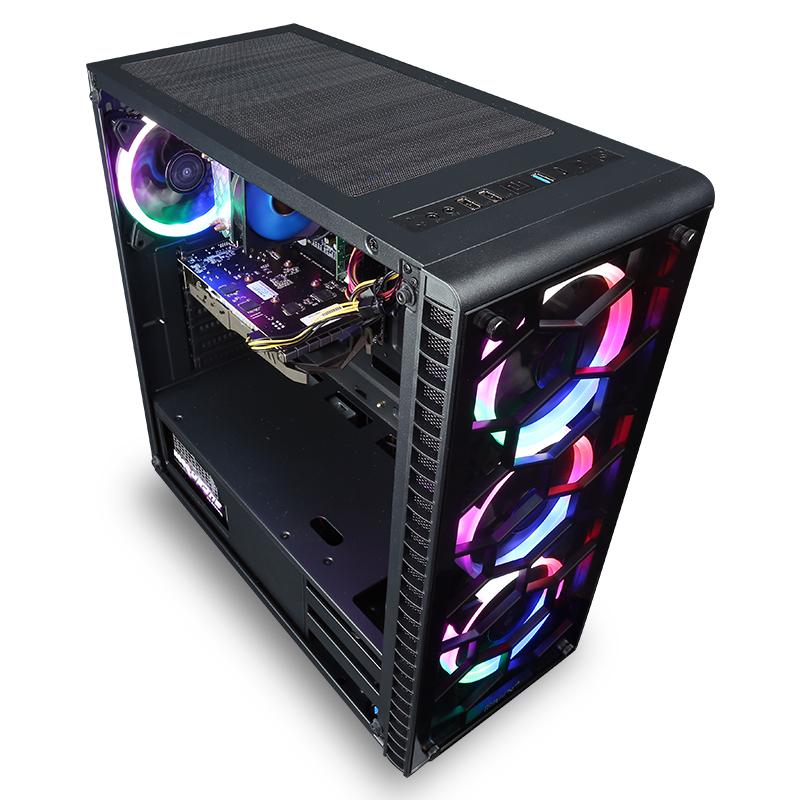 绝地求生网咖电脑主机游戏台式组装机 16G 5G GTX1060 8700 i7 八代