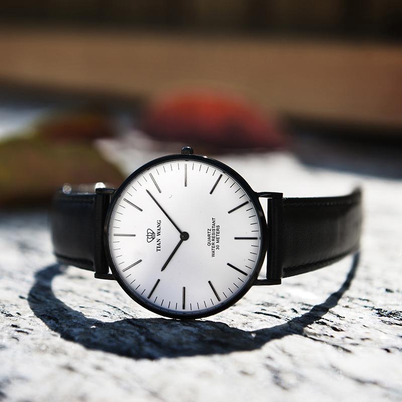 休闲男女手表抖音同款网红猪年手表 3851B 天王表情侣皮带石英手表