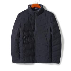 冬季羽绒服男士短款立领保暖外套QZ0581