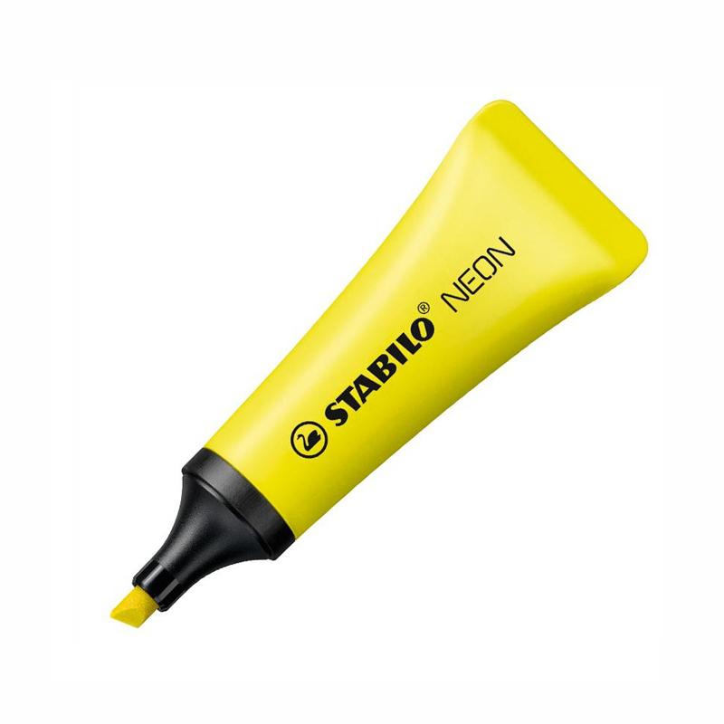 德国Stabilo思笔乐彩色荧光标记笔记号笔糖果色无味便携重点标记