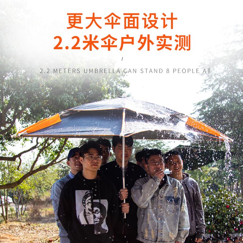佳钓尼台钓鱼伞大钓伞地插加厚万向双层防雨风防晒遮阳伞垂钓渔伞