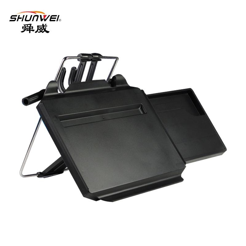 舜威车载电脑支架笔记本汽车餐桌子车用折叠小桌板办公桌后排餐桌