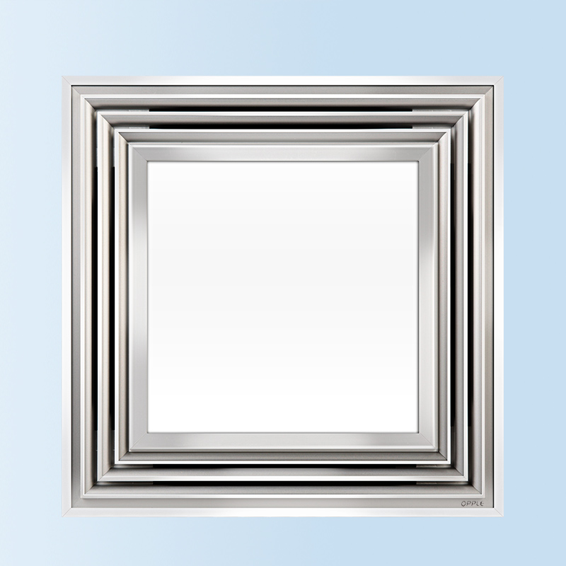 300 300 铝厨房卫生间厨卫 换气扇二合一 LED 集成吊顶灯 opple
