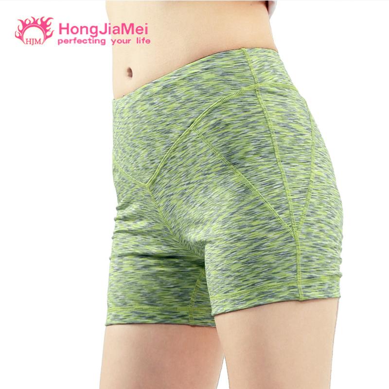 瑜伽服速幹運動緊身短褲 女高溫時尚熱褲高彈健身跑步訓練褲
