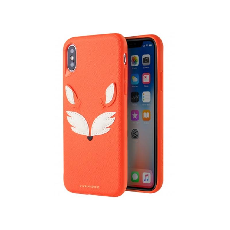 VIVA网红潮牌苹果XSMAX兔耳朵手机壳iphoneX保护套7P皮XR狐狸8P狗