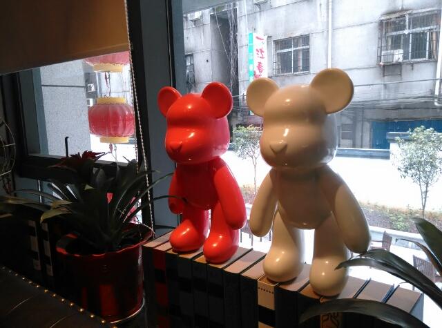 暴力熊公仔模型摆件玩具 么么熊 熊玩偶 MOMO 包邮大号暴力熊玩偶