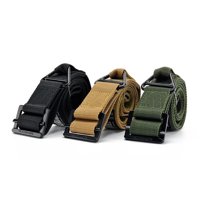 軍迷戶外戰術腰帶 cqb黑鷹內腰帶裝備空降師救援專業尼龍褲帶800D