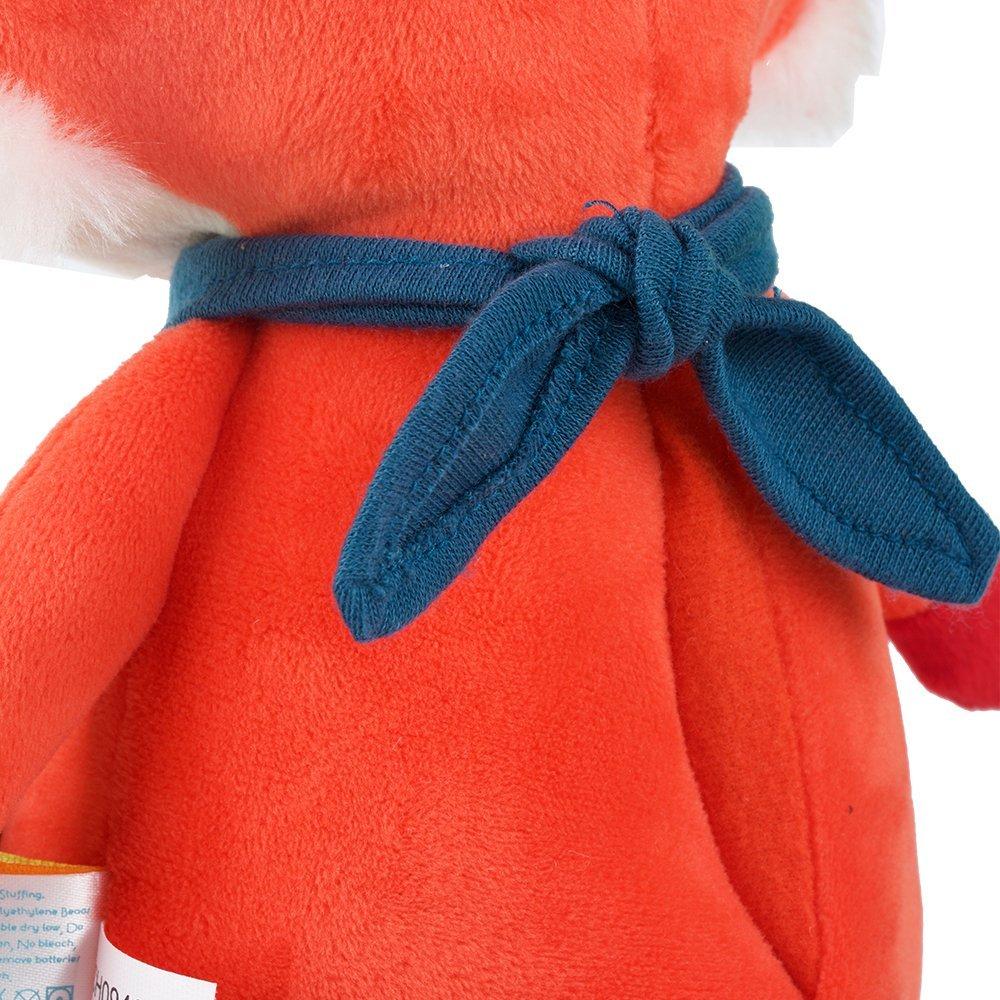 美国B.TOYS会说话的狐狸陪睡眠毛绒安抚玩偶学说话汤姆猫益智玩具