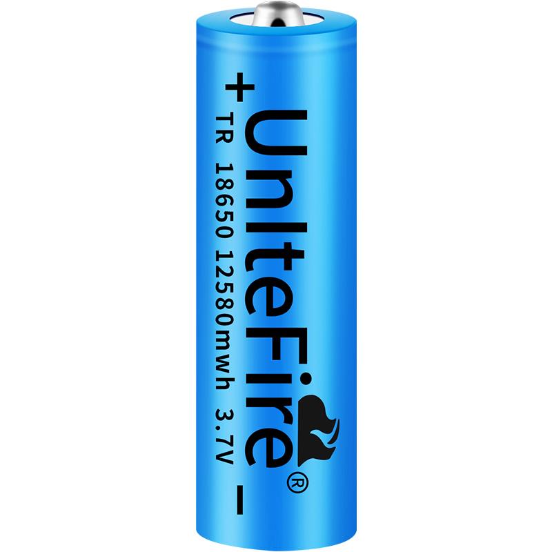 18650锂电池大容量3.7v强光手电筒头灯小风扇听戏机电池4.2充电器【图5】