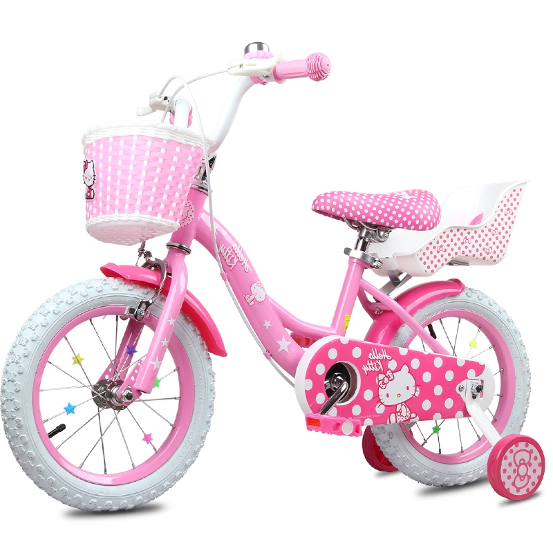 儿童自行车12/14/16寸女宝宝小孩3-2-4-5-6岁7女童单车女孩脚踏车