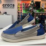 Crocs canvas shoes female card Luo Chi female Vollu low-top breathable one-pedal soft bottom casual board shoes 14391