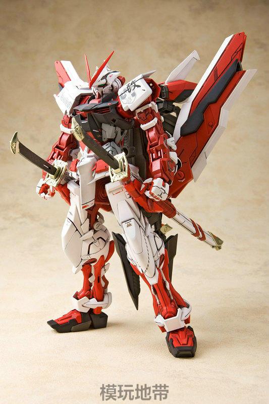专柜正品 日本万代 MG 129 红异端Astray Red 红迷茫红色异端高达