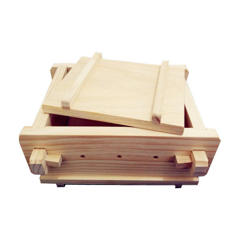 DIY厨房小工具加厚自制家庭用做豆腐模具大豆腐盒豆腐框可卸免邮