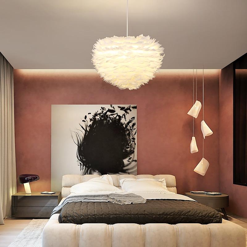 网红吊灯睡房客厅艺术北欧灯具
