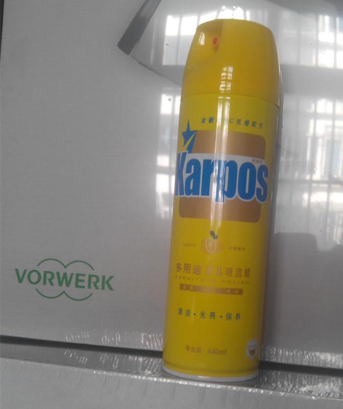 多功能福维克吸尘器喷洁蜡柠檬香味护理蜡地板蜡家具蜡