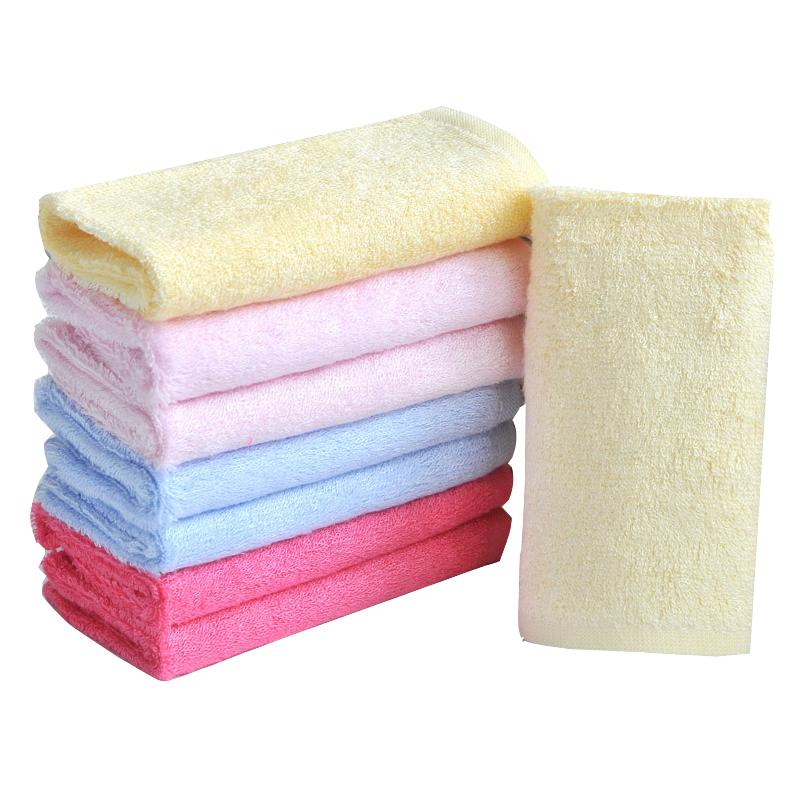婴儿洗脸巾抗菌不沾油易清洗洗碗巾 法蕾雷雅纯竹纤维小方巾