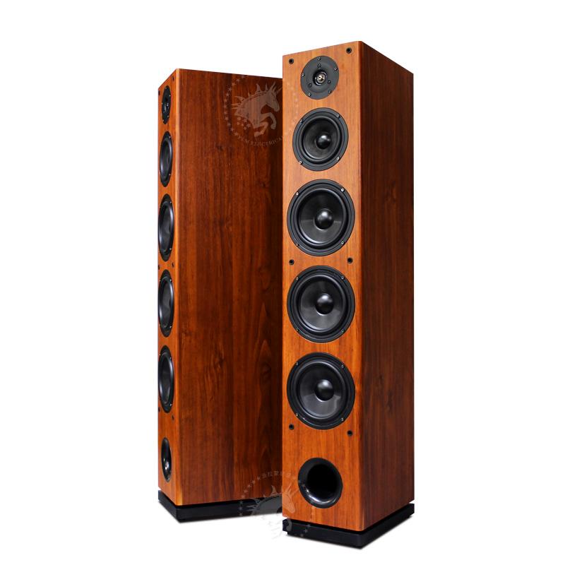 英寸低音炮 12 件套客厅 6 家庭影院音响套装木质环绕音箱家用 5.1 狮堡