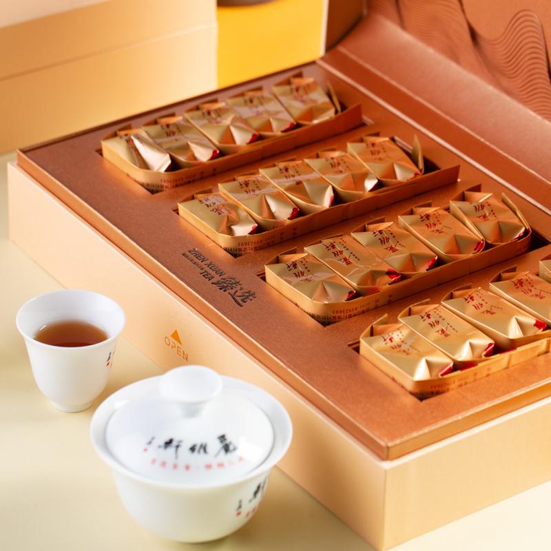 岩雅轩不争系列武夷山正岩肉桂高香乌龙茶小泡袋礼盒装伴手礼特级