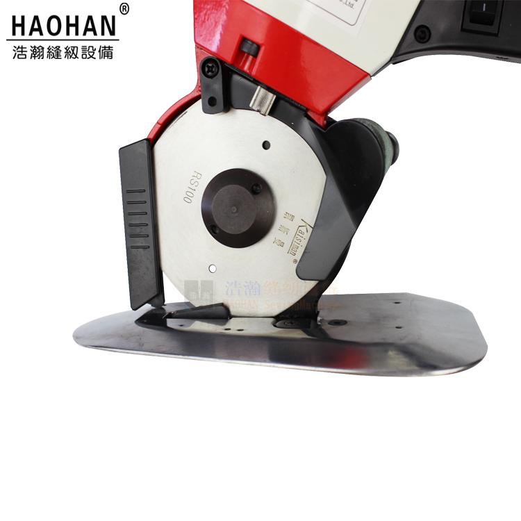 八角刀圆刀电剪凯斯曼圆刀裁剪机KSM100 110型服装皮革手动电裁刀