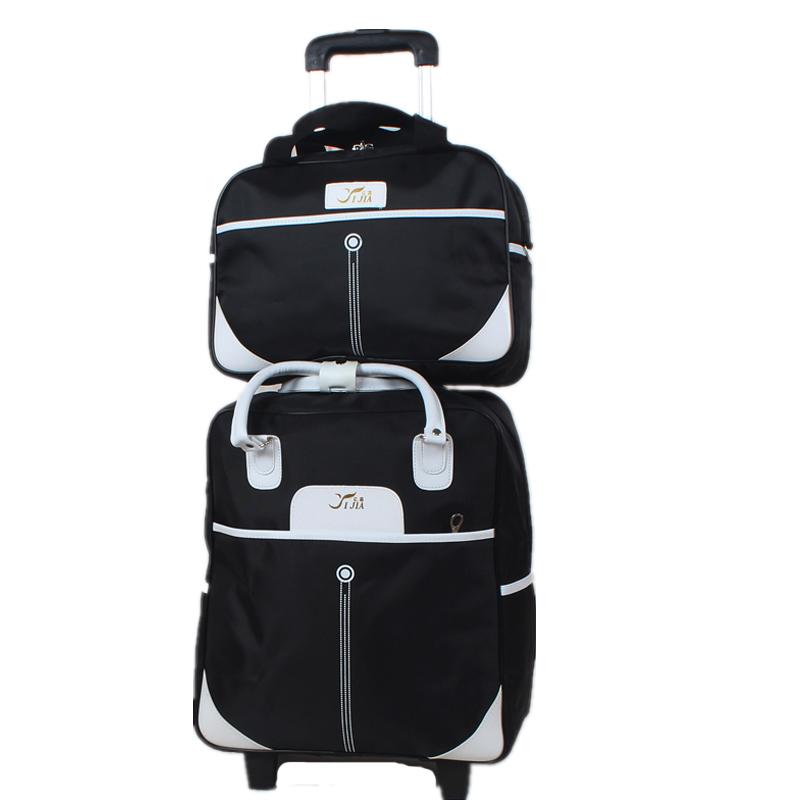 拉杆包旅行包女手提包旅游包男登机箱大容量手拖包短途行李袋韩版
