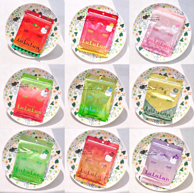 日本Lululun地區限定美肌櫻花面膜海道哈密瓜草莓茶花櫻桃薰衣草
