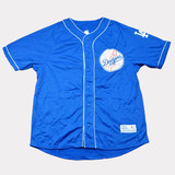 US MLB Professional Baseball Team Winter Plus Velvet Half Sleeve Baseball Wear Baseball Shirt Baseball Top Dynasty