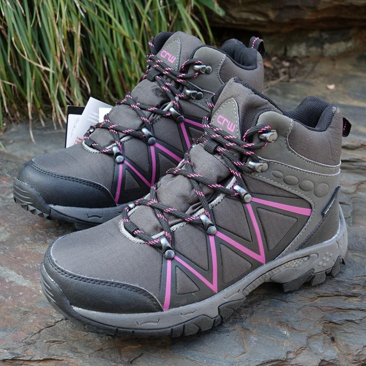 保暖雪地靴 耐磨加绒加厚 户外高帮防滑防水 冬季断码好货推荐