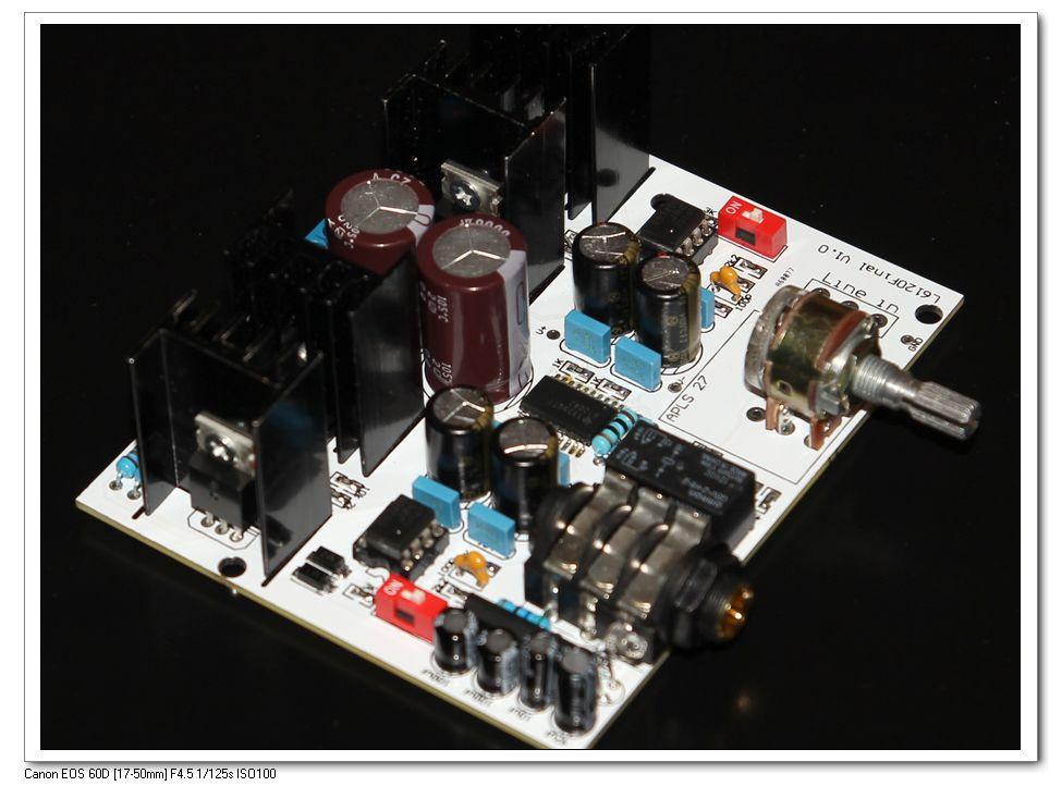 L6120 Terminator发烧耳机放大器 甲类并联稳压TPA6120耳放(套件)