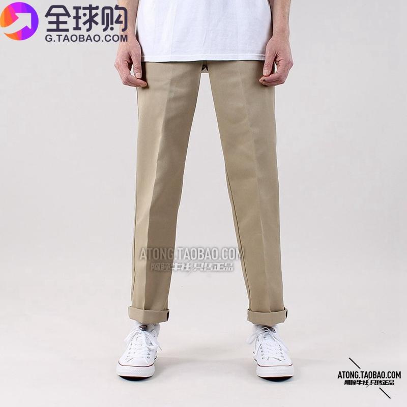 工装裤男休闲滑板长裤薄款蒂克现货中低腰夏季 dickies873 阿瞳牛社
