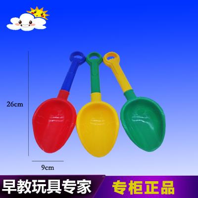 出口玩沙铲子 儿童沙滩玩具 玩沙工具小铲子塑料柄挖雪挖沙工具
