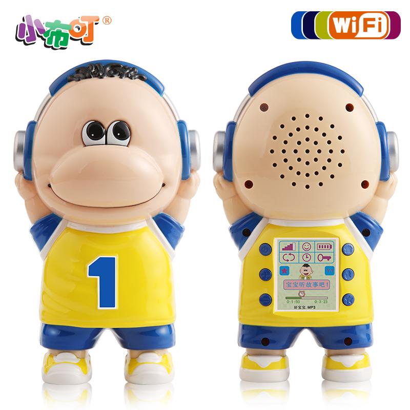 小布叮分龄早教机小布丁儿童mp3故事机可充电下载带遥控带显示屏