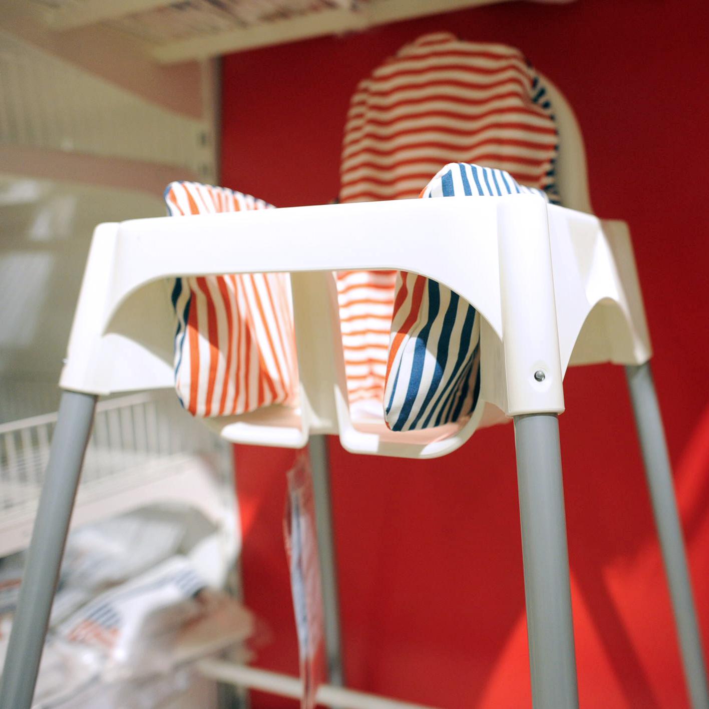 凳子 BB 安迪洛高腳椅子寶寶餐椅兒童吃飯椅安全座椅 宜家國內代購