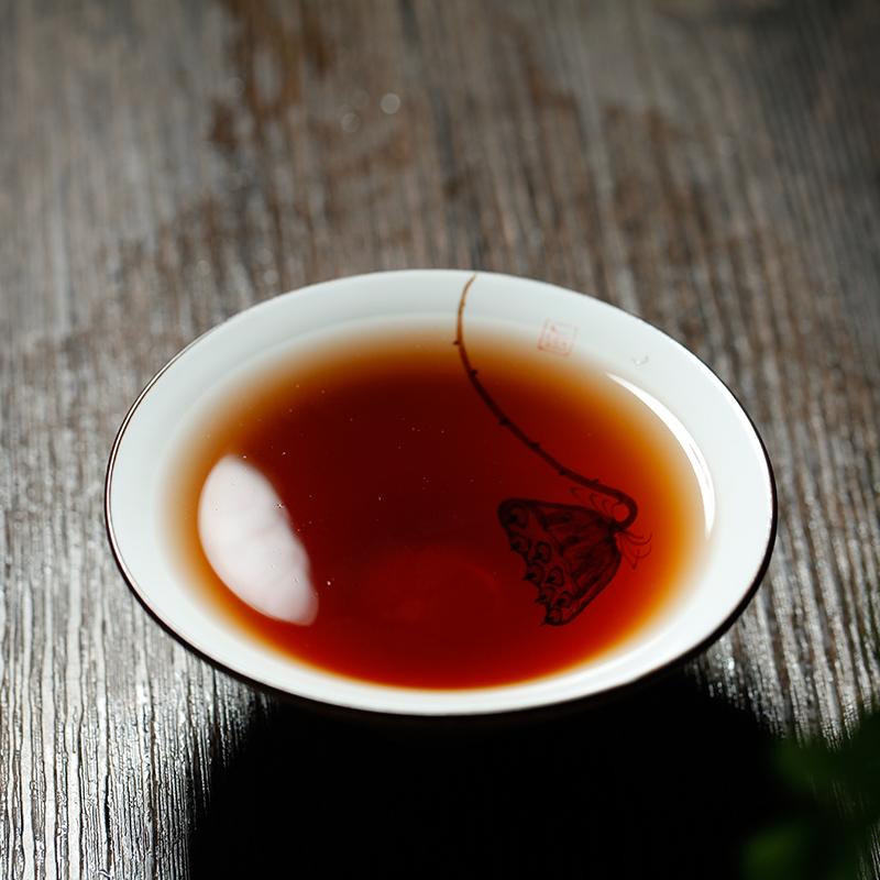 1000g 碎银子散 易武糯米香普洱茶熟茶金不换老茶头 糯米香茶化石