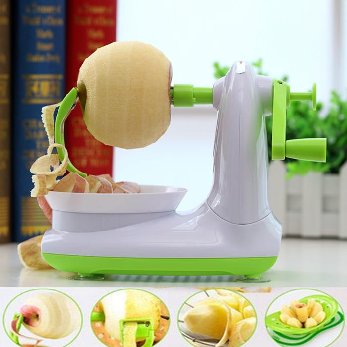 水果削皮器 手搖蘋果削皮機削梨蘋果機器自動打皮器刮皮刀削皮刀B