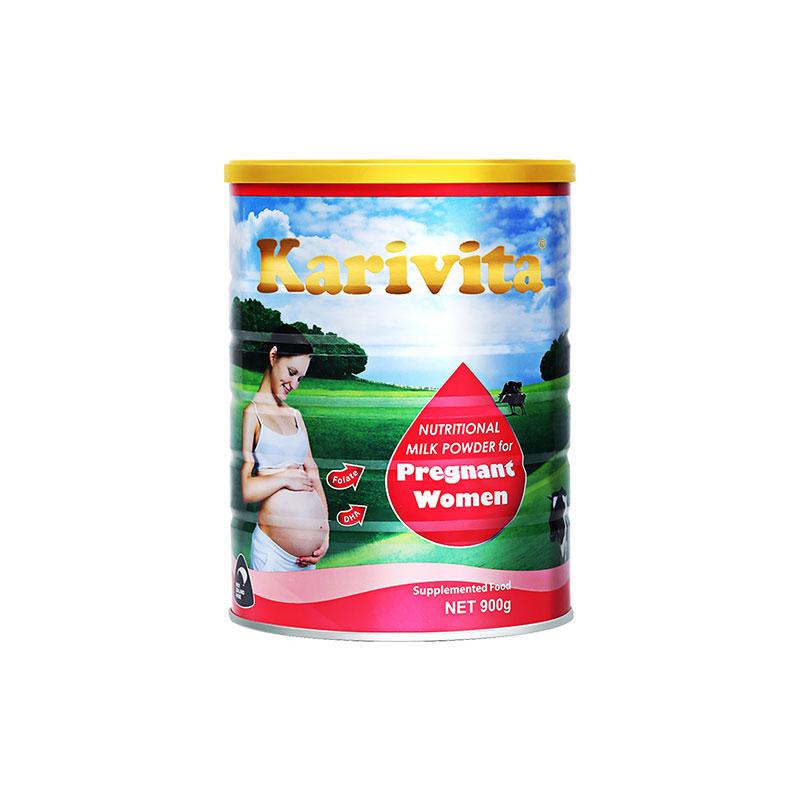 卡瑞特兹进口孕妇配方正品怀孕期孕中期孕早晚期高钙无糖精牛奶粉