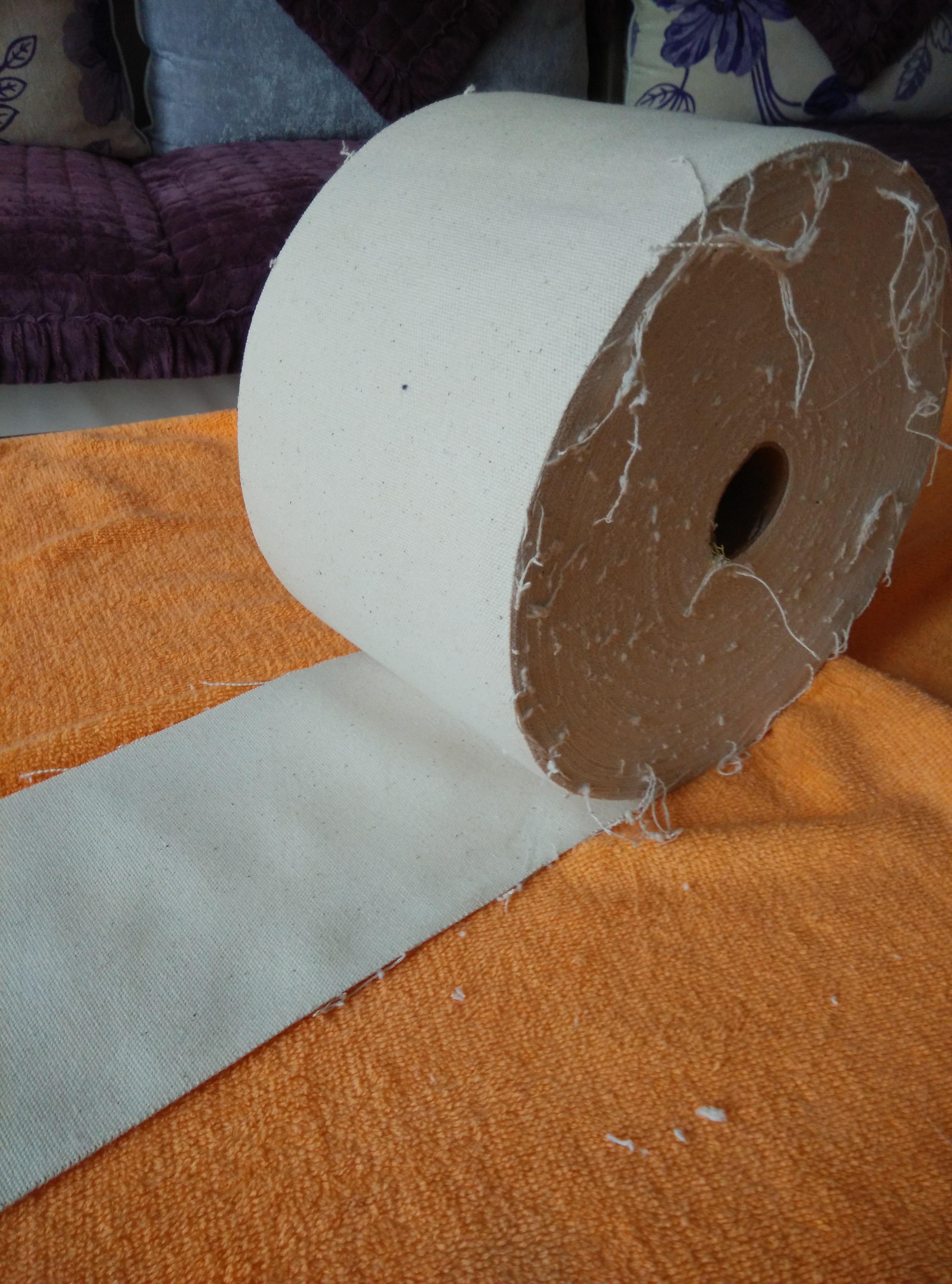米纯棉帆布透气防渗透高档耐高温整卷 50 长 18cm 10 泽一家膏要布