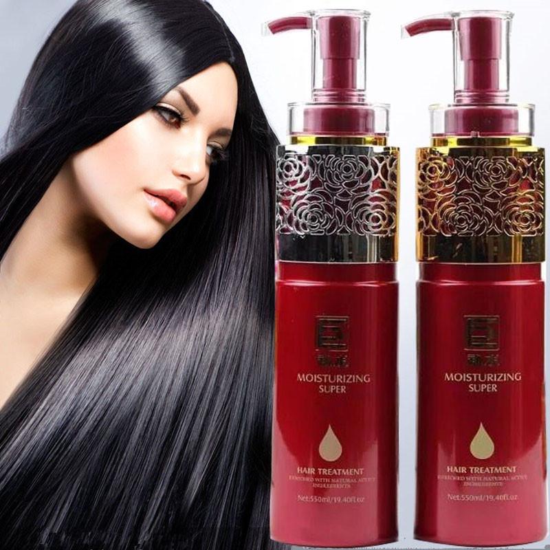 正品諾媚爾巨補水養髮霜滑溜溜洗髮水護髮素柔順護理修復乾枯毛躁