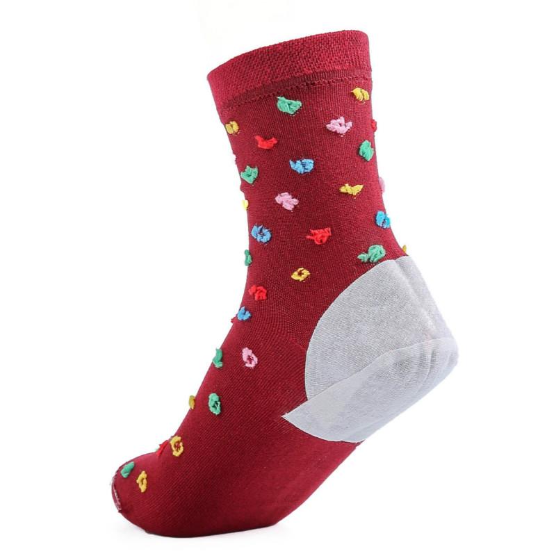 3双包邮 俊竹防裂袜脚裂袜子防脚后跟干裂开裂足裂袜男女厚棉足跟