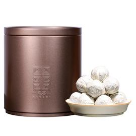 云南普洱茶2018年老班章古树生茶小龙珠500g罐装布朗山迷你沱茶球