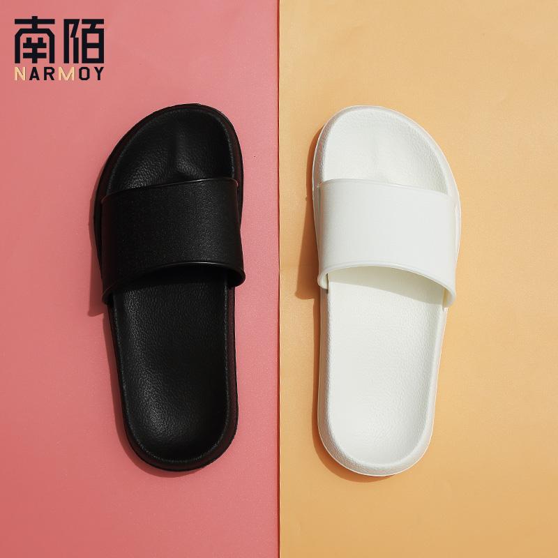 買一送一拖鞋女夏外穿浴室洗澡情侶室內居家2019新款防滑涼拖鞋男