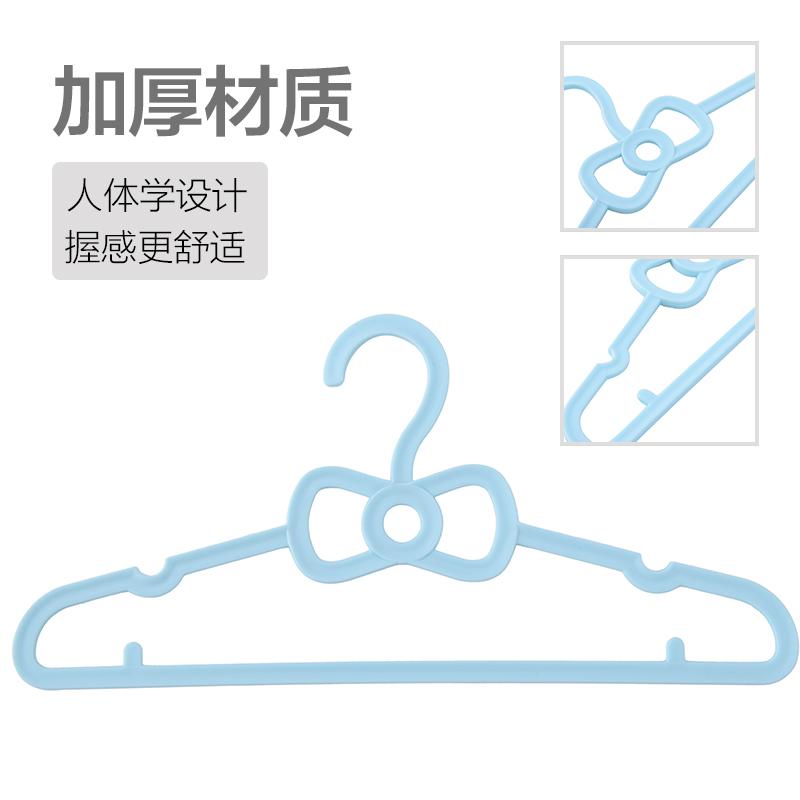 塑料家用简易蝴蝶儿童衣架包邮宝宝婴儿衣撑小号新生儿小孩衣挂