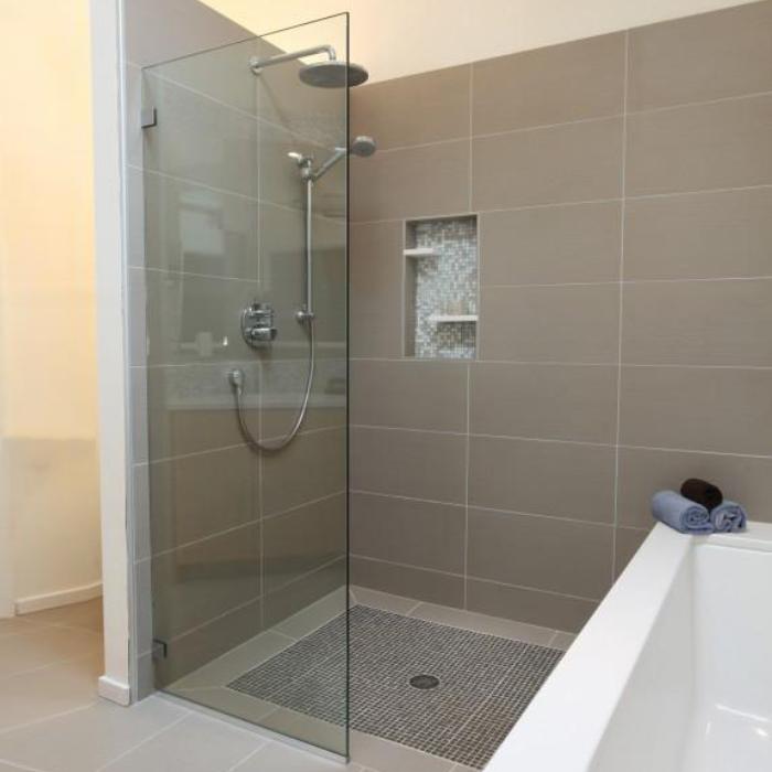 成都定做淋浴房整体浴室移门钢化玻璃沐浴房隔断屏风弧形简易浴房