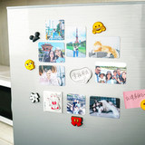 Mimo printed refrigerator stickers custom photos magnetic stickers custom made personalized creative characters baby couple memorial