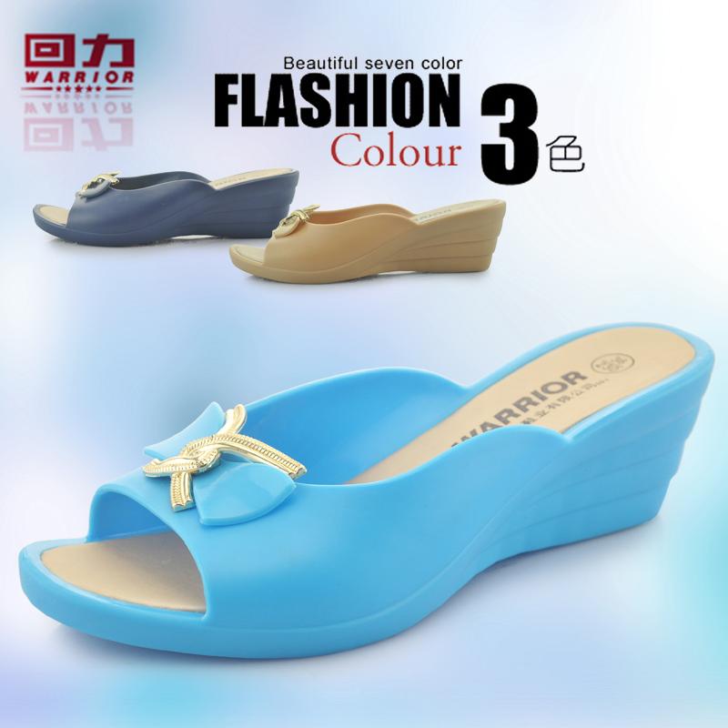 回力大码女鞋高跟气质通勤单鞋防水防滑女士高跟鞋