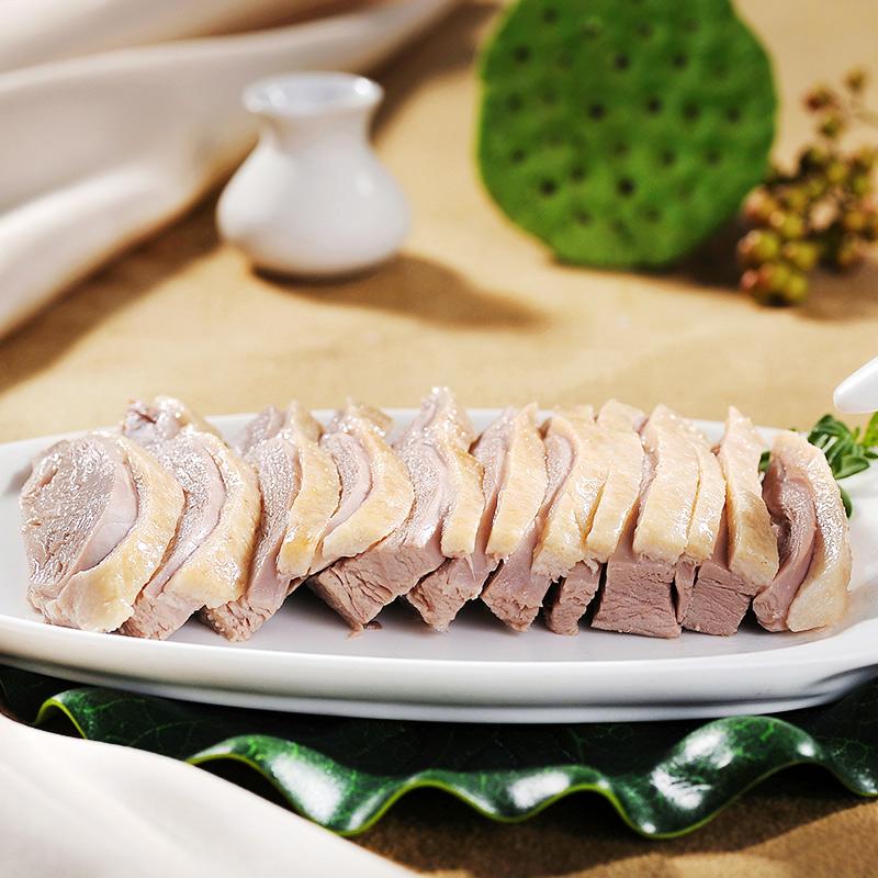 樱桃鸭正宗南京盐水鸭900g整只卤味熟食江苏特产美食咸水鸭板鸭